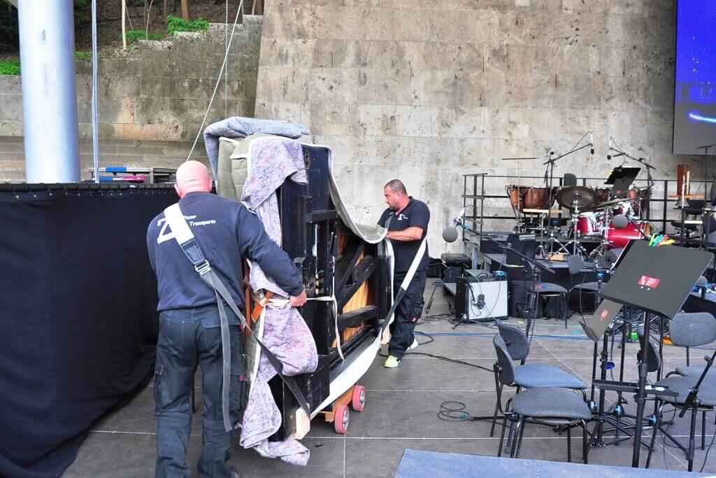 Flügel Lieferung Disney - ZK Piano Transporter