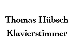 Thomas Hübsch