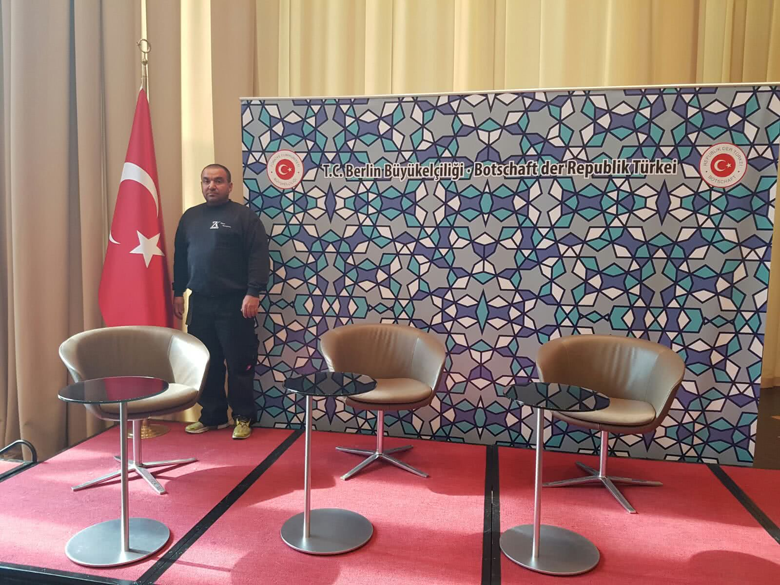 Botschaft der Republik Türkei | ZK Piano Transporte