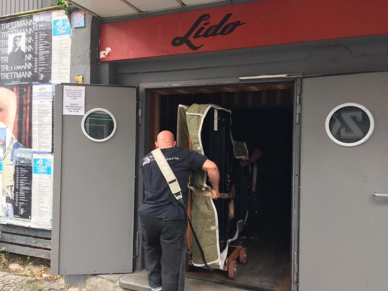 Flügel für das Lido Berlin